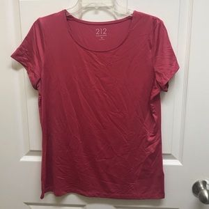 212 Collection Dark Salmon Blouse Size M